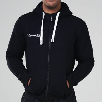 Mens Full Zip Hoody_Black_1